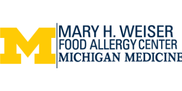 University of Michigan-Mary H Weiser Food Allergy Center logo